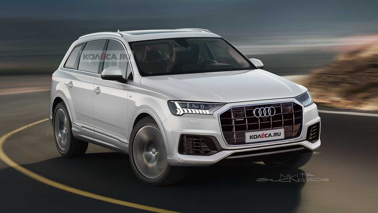2020 Audi Q7 Facelift Accurately Rendered Based On Spy Shots Audi Q7 Audi Audi Q3