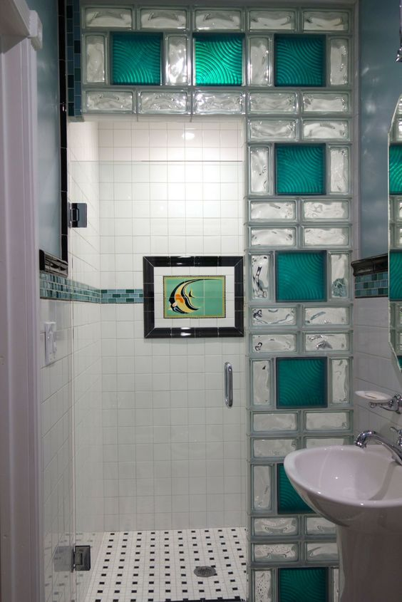 7 Tricks To Turn Your Tub Into An Amazing Walk In Shower | Coloured Glass,  Glass Blocks And Building