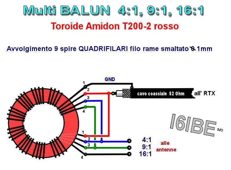 Balun 9a1 UnUn 9:1 Antenna LONG Wire i6ibe | Ham BALUN | Ham