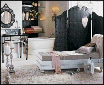 Glamour In Your Decor Hollywood Decor Hollywood Bedroom Glam Bedroom