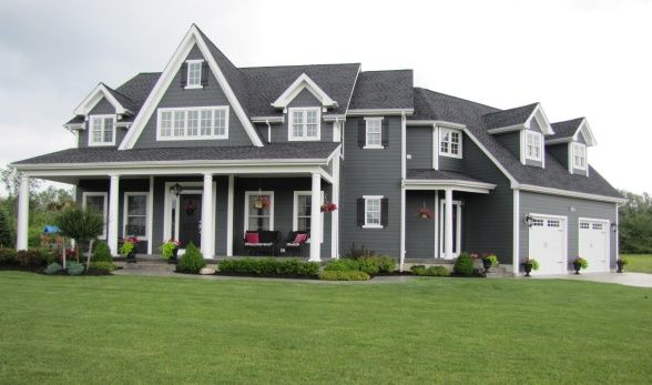 House Exterior On Pinterest Siding Colors James Hardie And Gray Siding