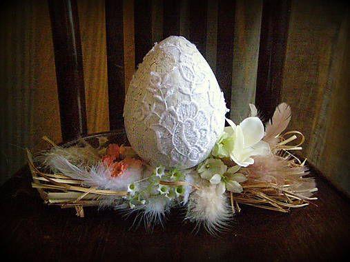 Dekorácie - nostalgické vajíčko 3 - 5248545_