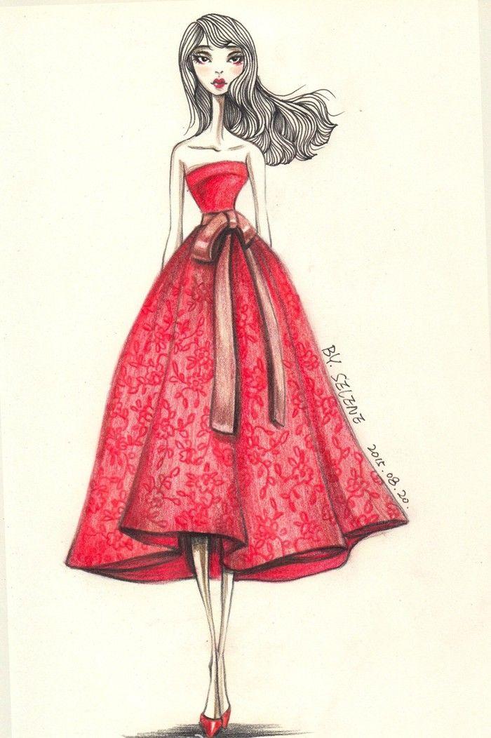 Sugerencia] ilustrador de moda pintado a mano el proyecto de diseño ...