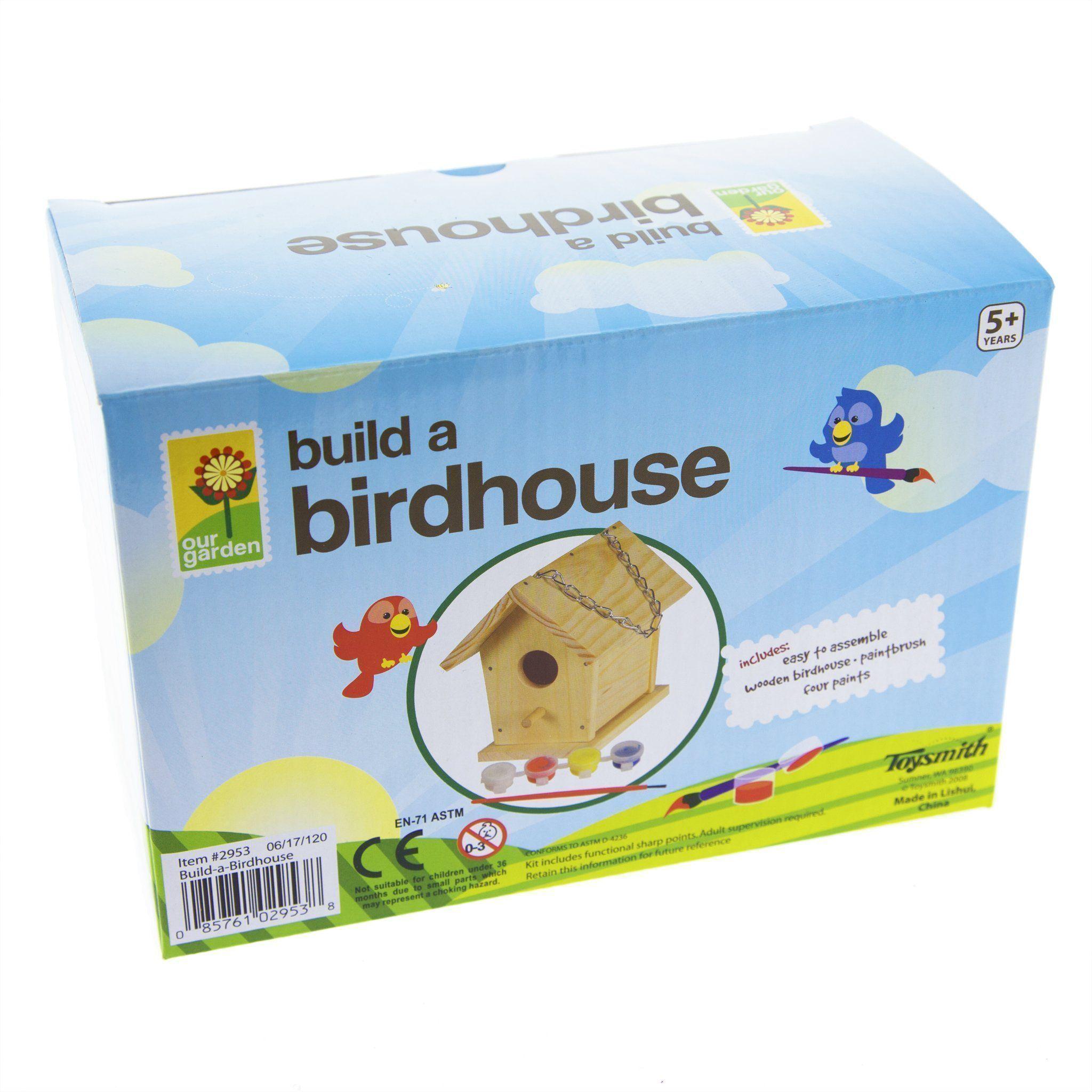 Build A Birdhouse #buildabirdhouse
