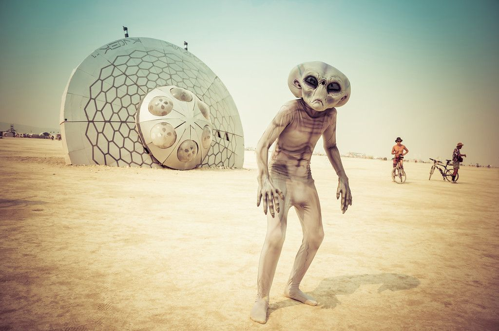 Burning Man - Photo by Trey Ratcliff