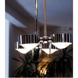 Photo of Top Light Puk Ceiling Sister Twin ceiling light white-chrome 8x lens clear 40cm Led Top LightTop Light