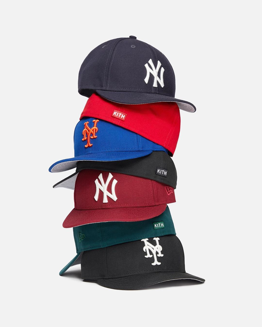 Kith On Instagram Kith X New Era Yankees Mets Low Profile Fitteds Available Now On Kith Com In 2020 Trucker Hat New Era Yankees Kith