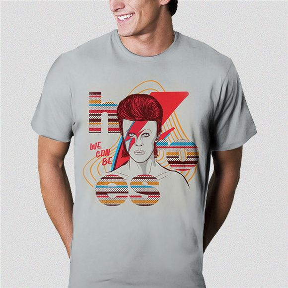 Camiseta Bowie - We can be Heroes
