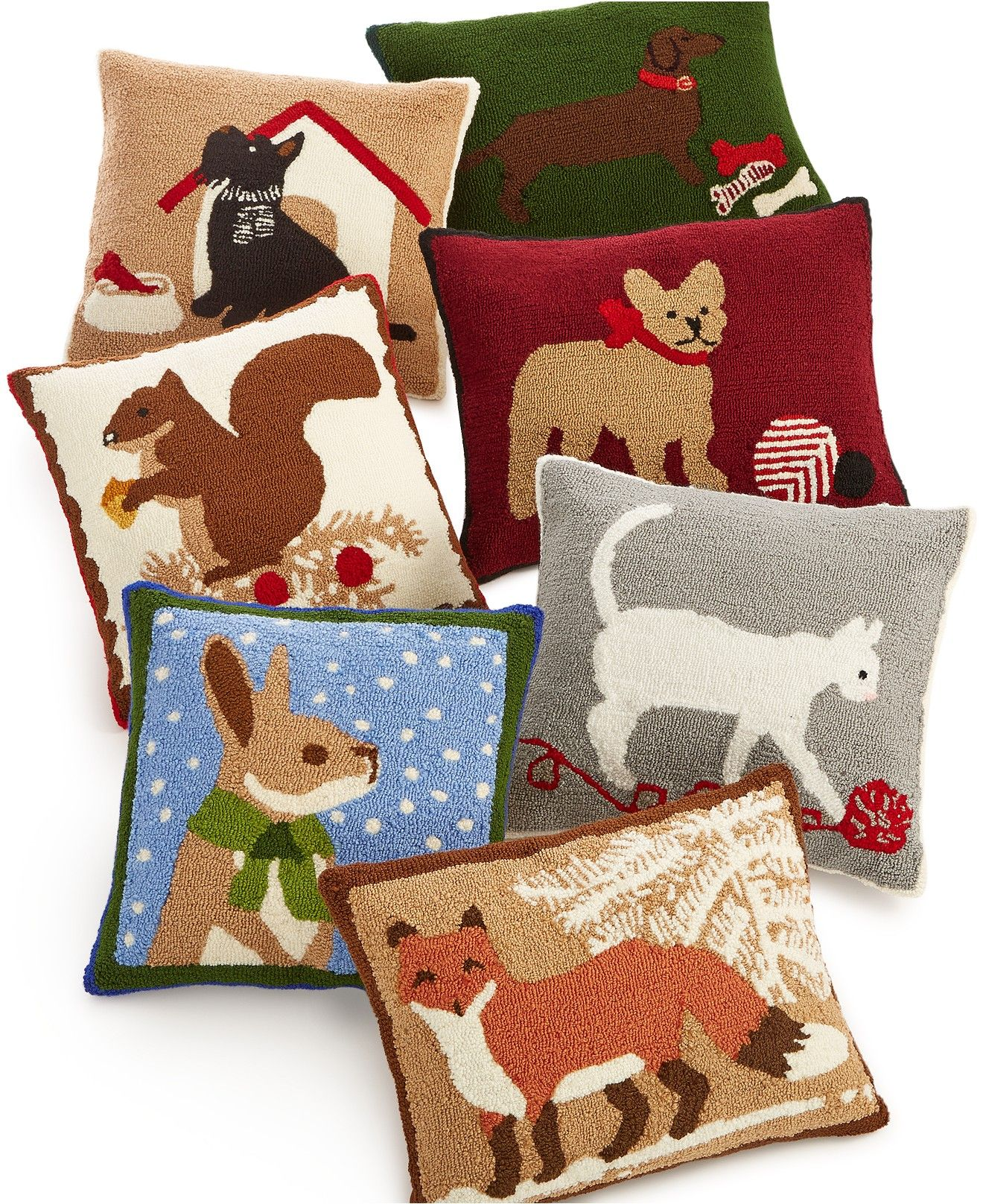 Macy's Decorative Pillows Mesmerizing Martha Stewart Collection Bunny Decorative Pillow Only At Macy's Design Ideas