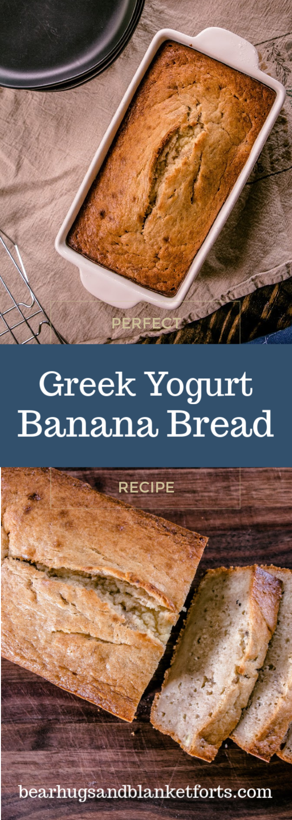 Are You Looking For The Best Banana Bread Recipe Look No Further Than This Super Moist Flavor Yogurt Banana Bread Greek Yogurt Banana Bread Best Banana Bread