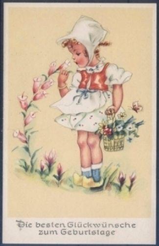 Geburtstagskarte ( K00821 ), Briefmarken-Versand-Welt - Briefmarken, Ansichtskarten und mehr