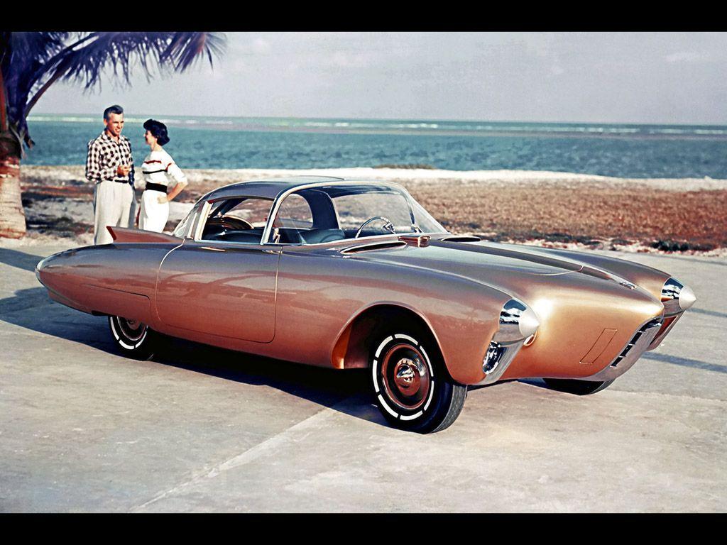 Oldsmobile Golden Rocket Dream Car Concept American Muscle