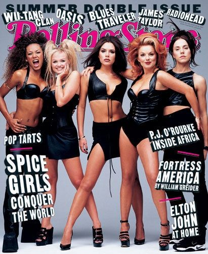 Rolling Stone July 1997, Spice Girls