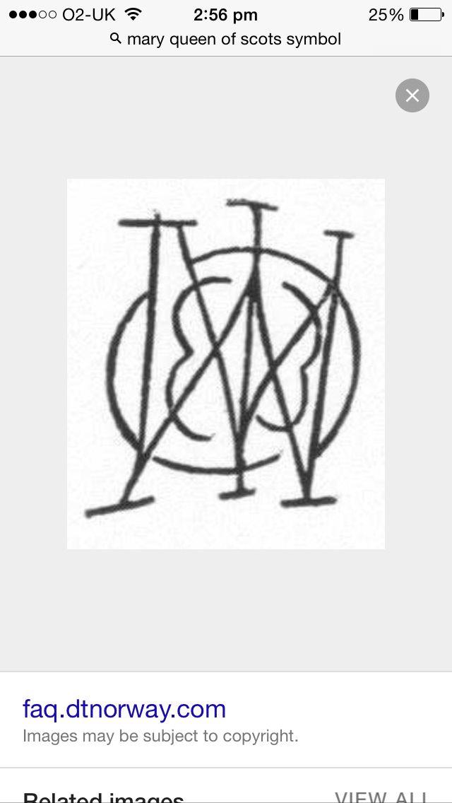 Symbol Mary Stuart Pinterest Mary Stuart