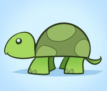 how to draw a turtle for kids - Easy Animal Drawing For Kids