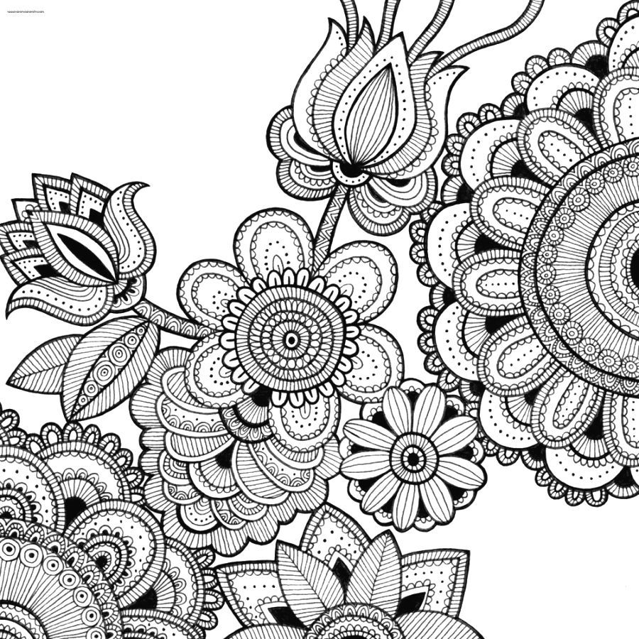 Intricate coloring pages intricate coloring pages printable free