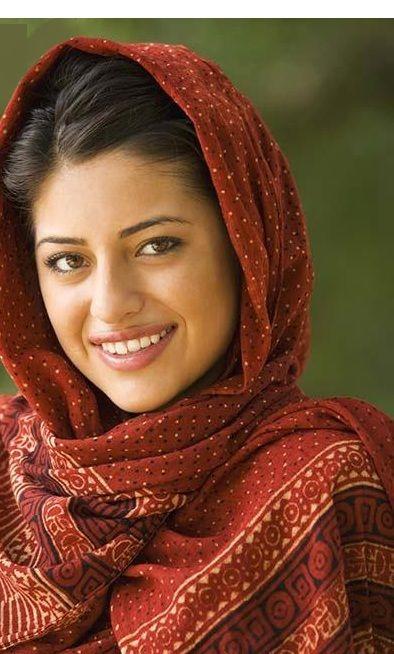 Indian Head Scarf  Portrait Of Indian Woman Wearing Head