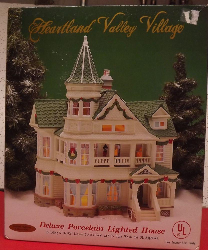 Heartland Valley Village Lighted House: HEARTLAND VALLEY VILLAGE LIGHTED HOUSE!