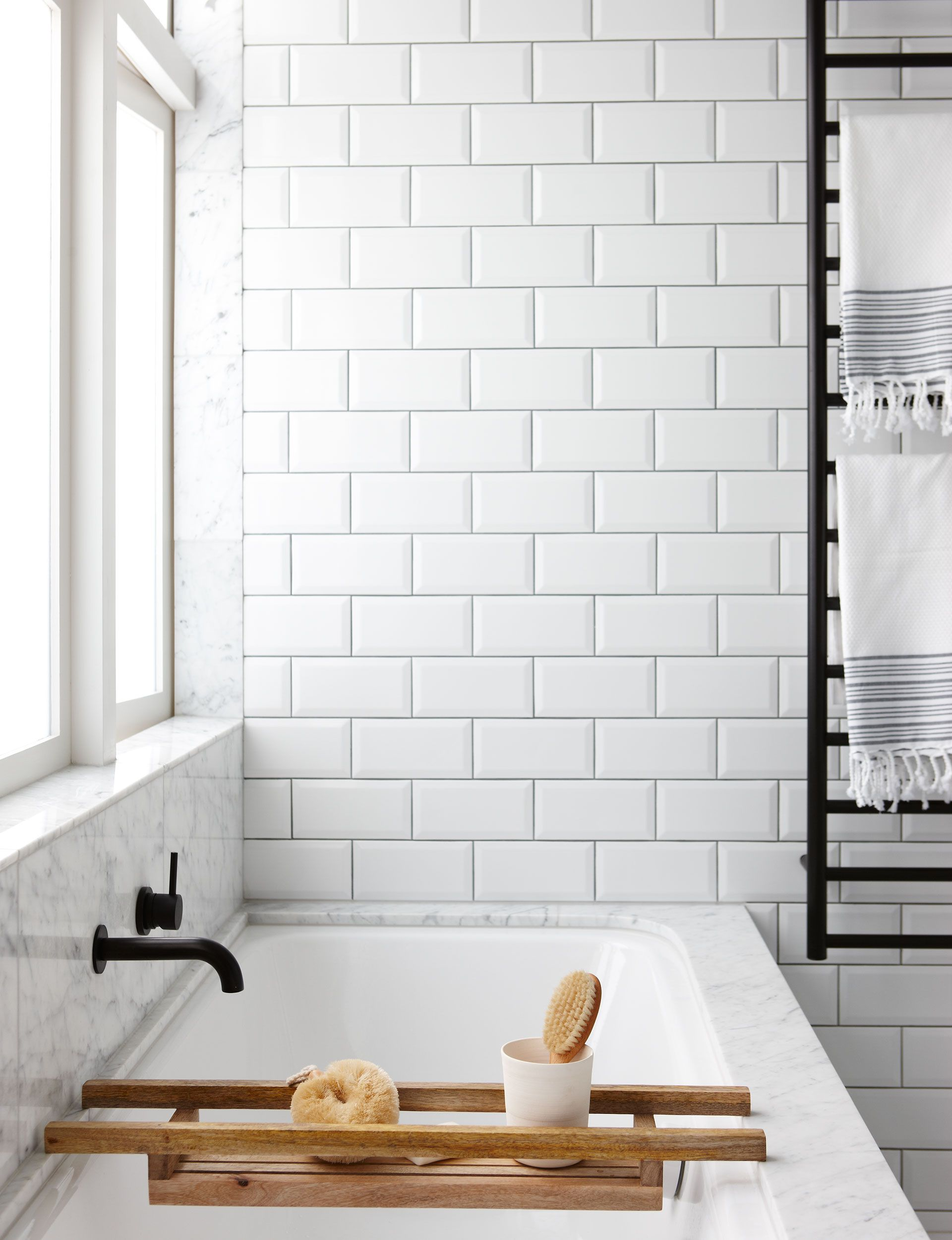 How To Clean Grout For Whiter Brighter Tiles Pinterest