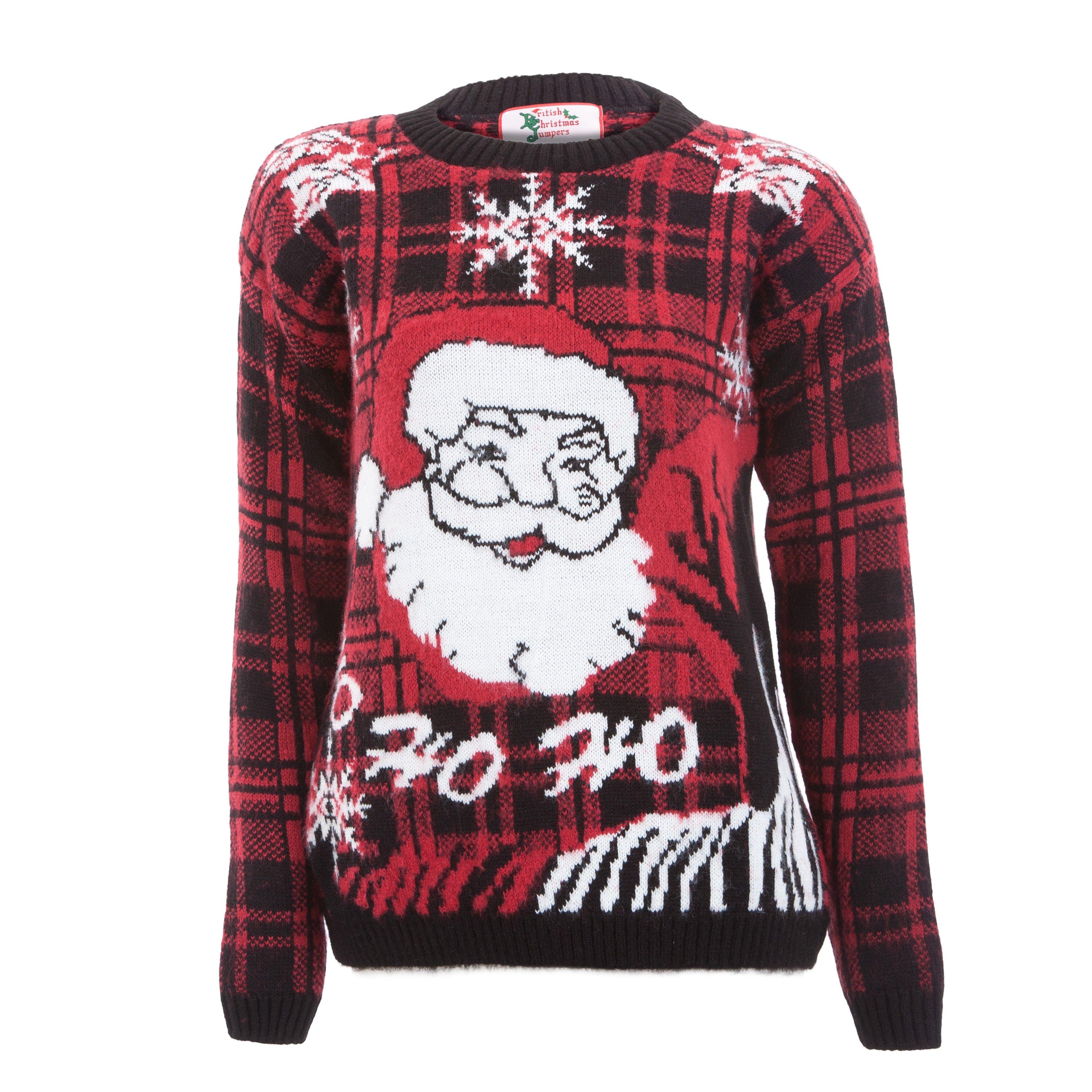 Ho ho ho! Womens christmas jumper