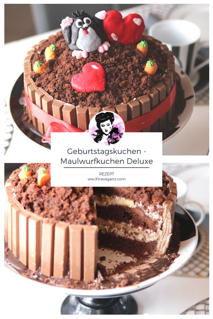 [Rezept] Geburtstagskuchen - Maulwurfkuchen Deluxe! - Xtravaganz.com
