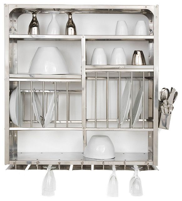 Kitchen Cabinets Direct From Manufacturer: Contemporary Dish Racks With Awesome And Beautiful