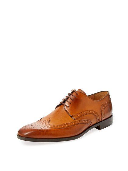 Wingtip Blucher Derby Shoe By Saks Fifth Avenue At Gilt