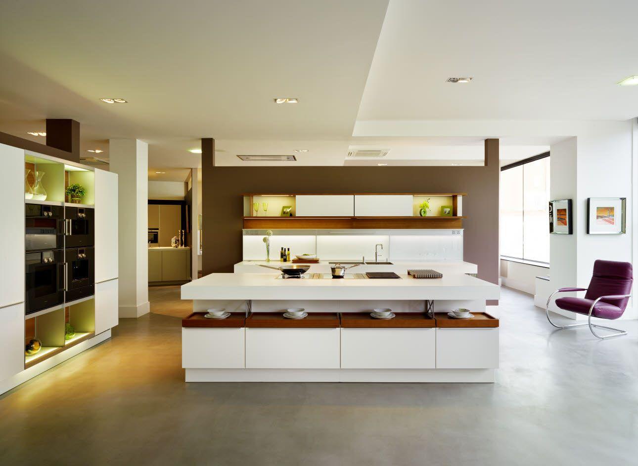 Poggenpohl Kitchen Studio St. Albans  Isla cocina moderna