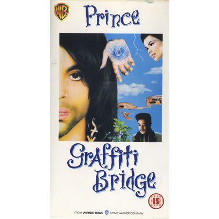 For Sale - Prince Graffiti Bridge UK video (VHS or PAL or NTSC) -