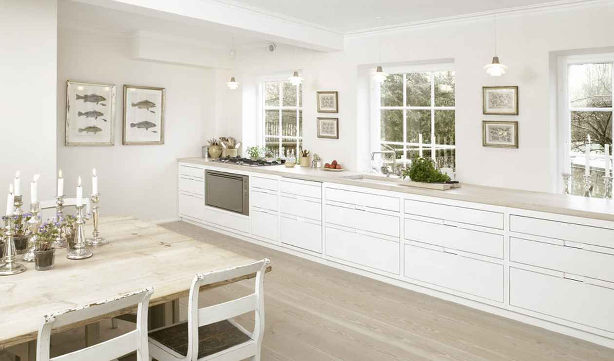 all white kitchen lower cabinets only