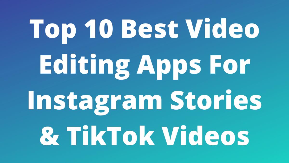 Medium Video Editing Apps Good Video Editing Apps Instagram Apps