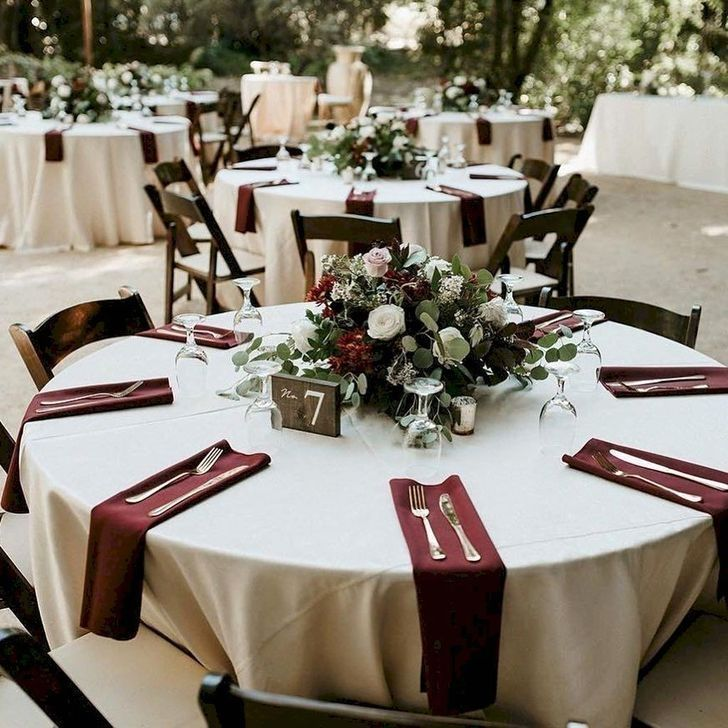 Fall Wedding Decoration Ideas On A Budget: 50 Outstanding Fall Outdoor Wedding Ideas On A Budget