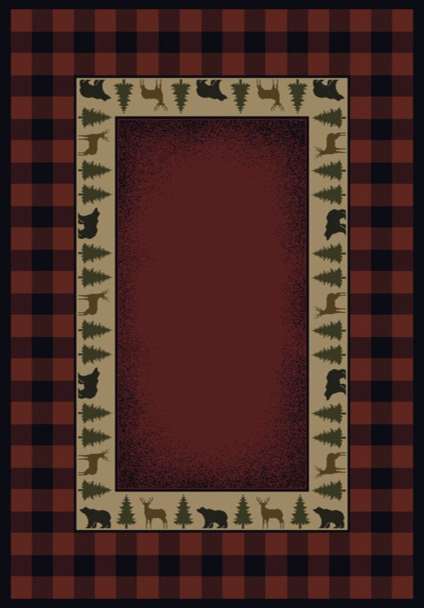 United Weavers 530 47636 Genesis Area Rug Buffalo Red At Lowe S Canada Find Our Selection Of Rugs The Lowest Price Guaranteed With
