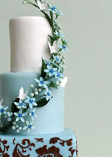 from Flower and Flour Wedding Cakes