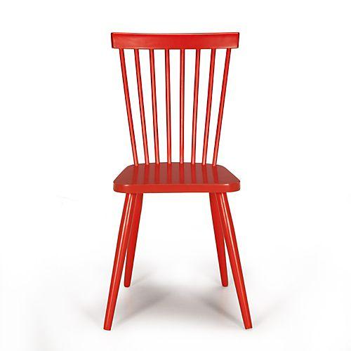 Chaise Vintage Rouge Cleo Chaises Tables Chaises Salon Salle A