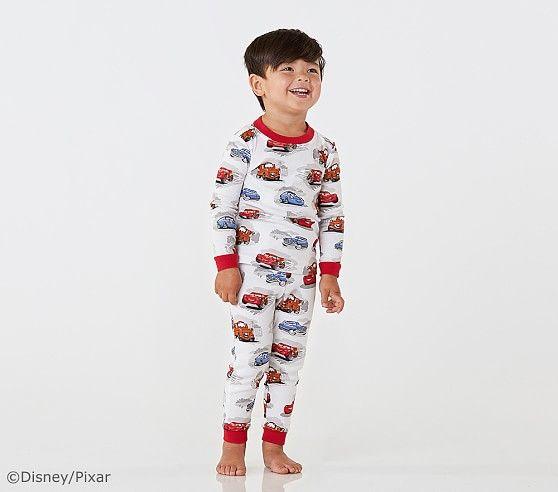 Disney And Pixar Cars Cotton Tight Fit Pajamas Pajamas