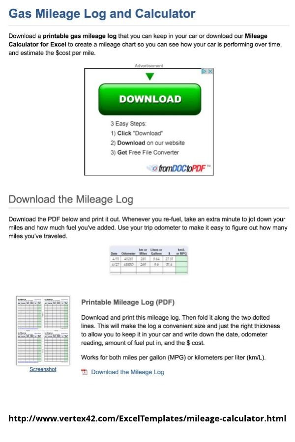 fuel mileage calculator track your car expenses gas mileage fuel