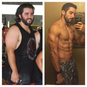Before After CrossFit Lubbock