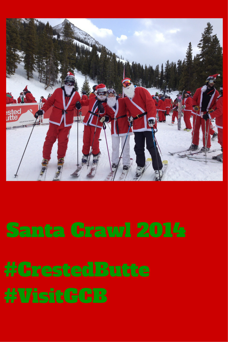 We set a new world record for the most #skiing #santas! @skicrestedbutte