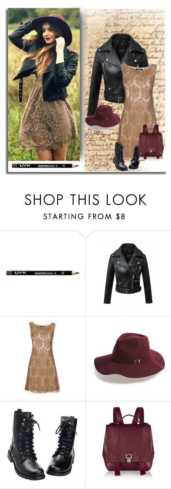 """""""Spring Will Spring Will Rock You!"""" by signa2000 ❤ liked on Polyvore featuring NYX, WithChic, Siste's, Shiraleah and Proenza Schouler"""