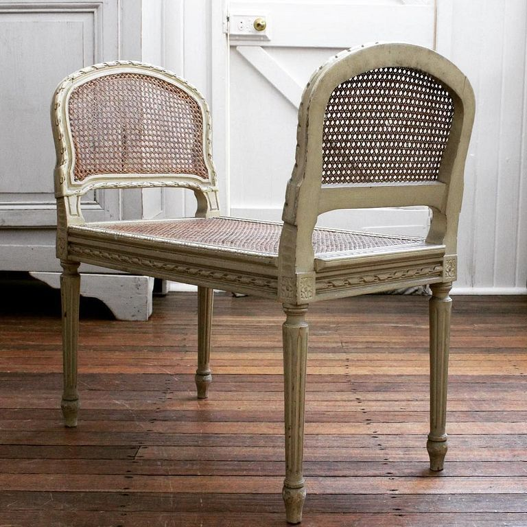 30 Antique Cane Chairs Design Ideas With French Style Cane