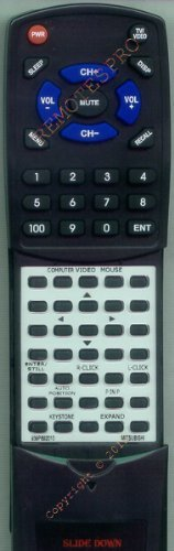 MITSUBISHI Replacement Remote Control for 939P892010, LVPX200A, LVPX200E, LVPX30U by Redi-Remote. $29.95. This is a custom built replacement remote made by Redi Remote for the MITSUBISHI remote control number 939P892010. *This is NOT an original  remote control. It is a custom replacement remote made by Redi-Remote*  This remote control is specifically designed to be compatible with the following models of MITSUBISHI units:   939P892010, LVPX200A, LVPX200E, LVPX30U, SD200...