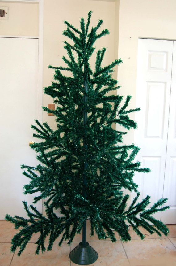 Vintage Artificial Christmas Trees.Vintage Christmas Tree Visca Feather Reserved For Kelly Vintage