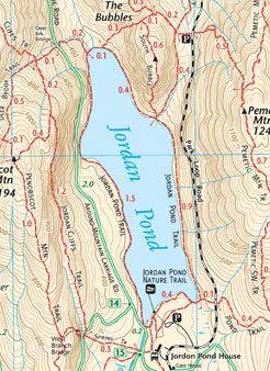 To Buy: Acadia National Park Hiking & Biking Trail Map | Maine ...