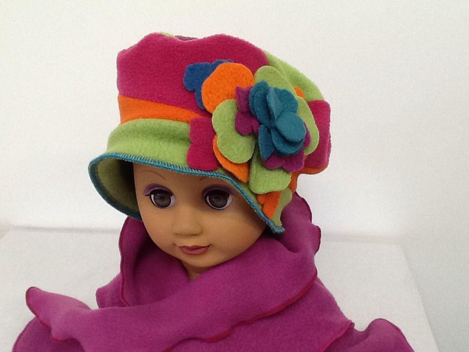 Chapeau+béret+multicolore+pour+enfant+et+bébé+mode+fille+ +Mode+filles+par+ creation-valerie-castets 1a21e38b118
