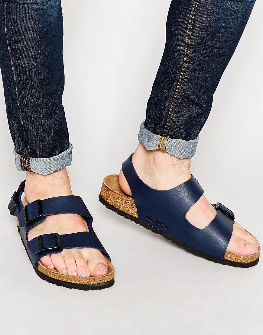 65c1dbdfe298 Image 1 of Birkenstock Milano Sandals