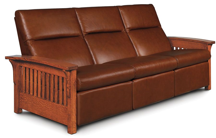 Grand Rapids Sofa Recliner From Simply Amish Furniture