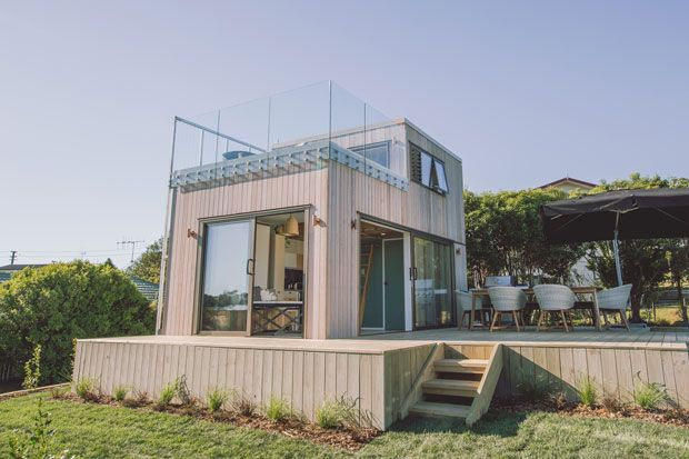 35sqm Raglan tiny home wows George Clarke | Young couples, Tiny ...