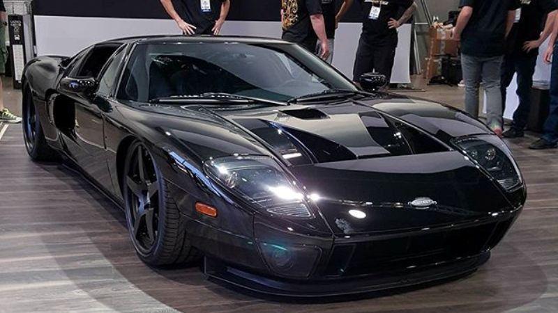 Ford Gt  Por Alfonso Irene