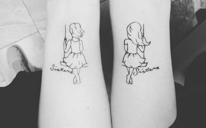 1001 id es amusantes et symboliques pour un tatouage meilleure amie tattoo tatouage. Black Bedroom Furniture Sets. Home Design Ideas